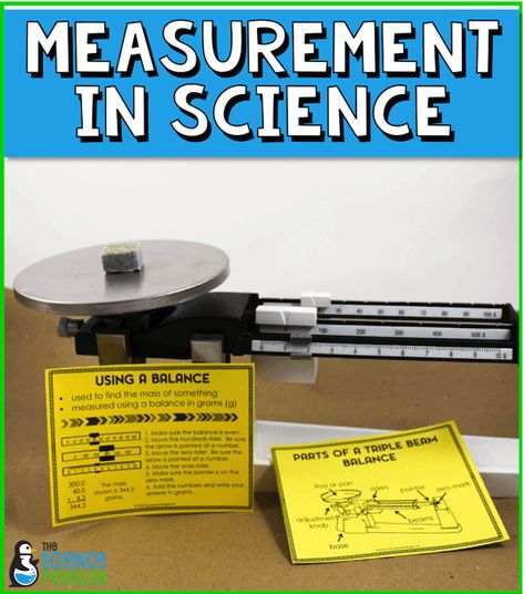 Measurement in Science: tools and resources from The Science Penguin