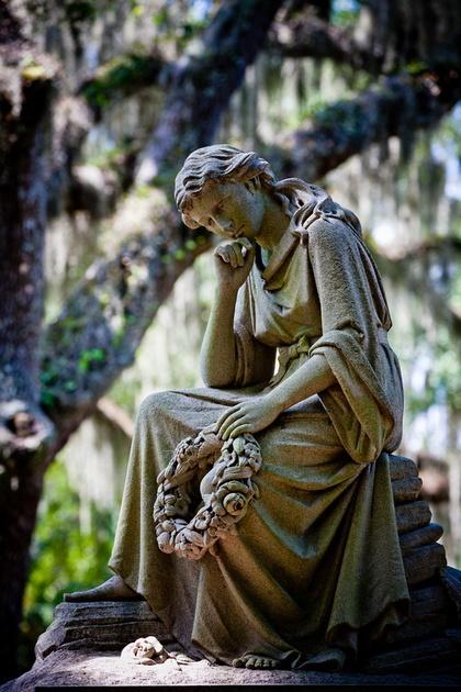 Bonaventure Cemetery Landscapes Savannah,GA -