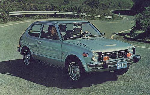 1977 Honda Civic | Honda | Civic | classic cars | classic Honda | old cars | Honda photos | Honda cars | Honda USA
