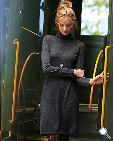 perfect dress in gray