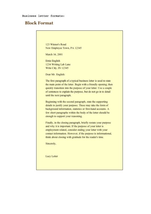 38 best Letter Templates images on Pinterest - new sample letter of business closure to government agency