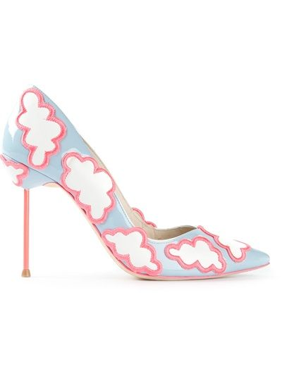 Sophia Webster, cloud patterned pumps 5