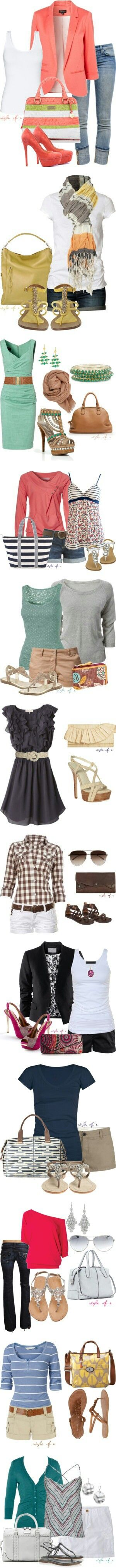 I love all these especially that dress! And the 5th picture