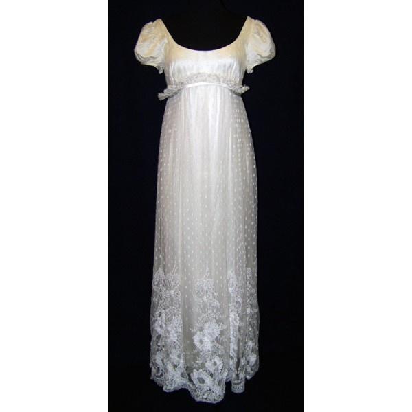 Image detail for -... :: Vintage In Vogue - Vintage 1960's Empire Waist Embellished Gown