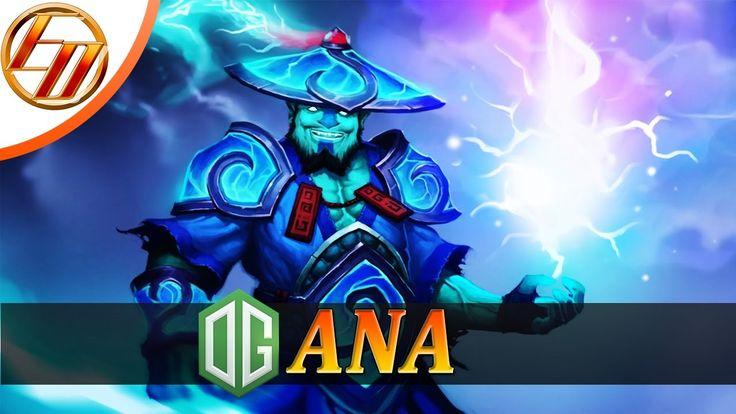Ana  Storm Spirit  Dota 2 Pro Gameplay | Team OG