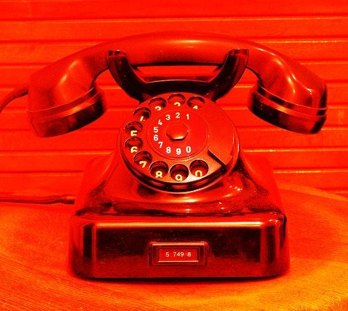 I've never liked telephones. I own a mobile but you'll never hear it ring...
