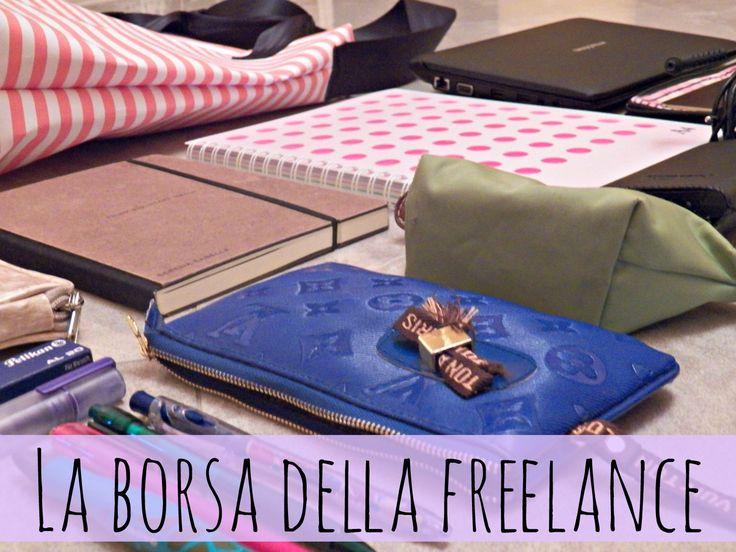 la borsa da lavoro della freelance1 La borsa da lavoro della freelance in trasferta (o anche no)
