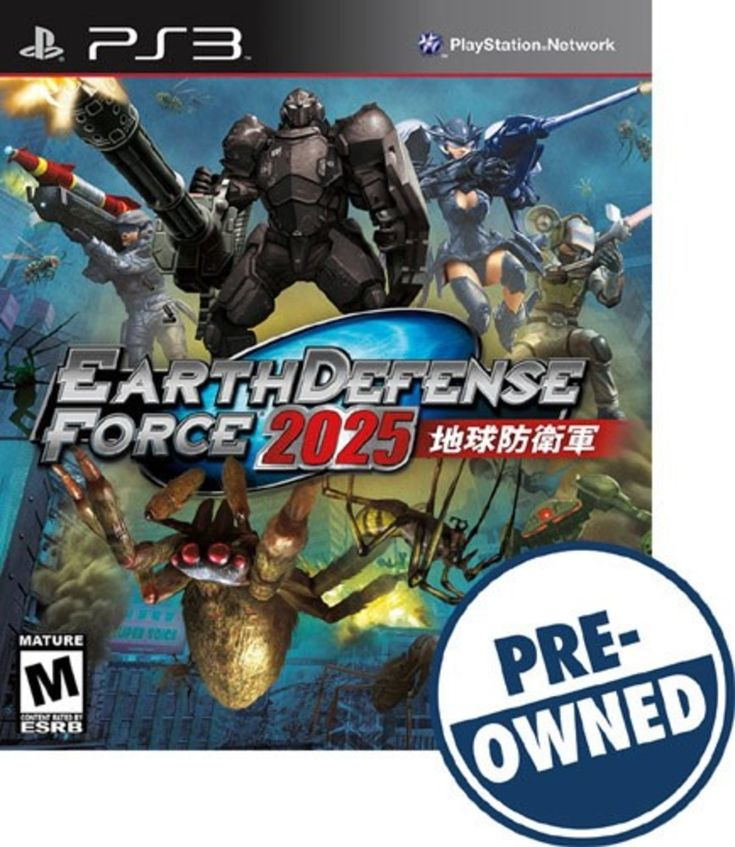 Earth Defense Force 2025 - PRE-Owned - PlayStation 3