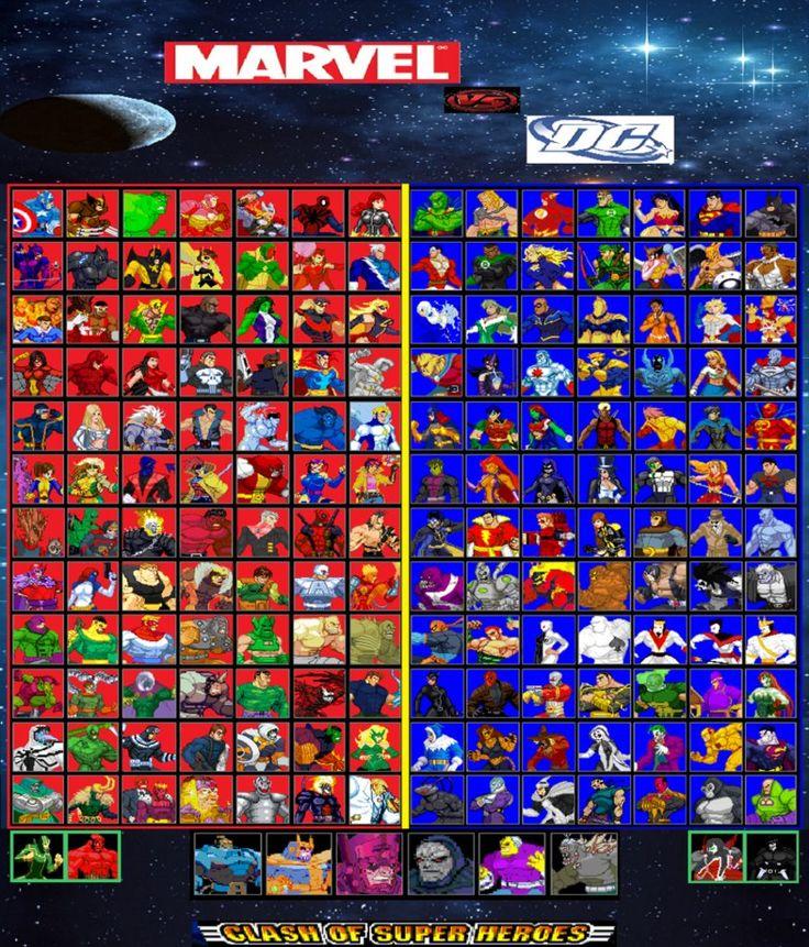 Marvel Heroes Vs. DC Heroes | COMIC BOOK FAN AND LOVER: TOP 10 (EN ...