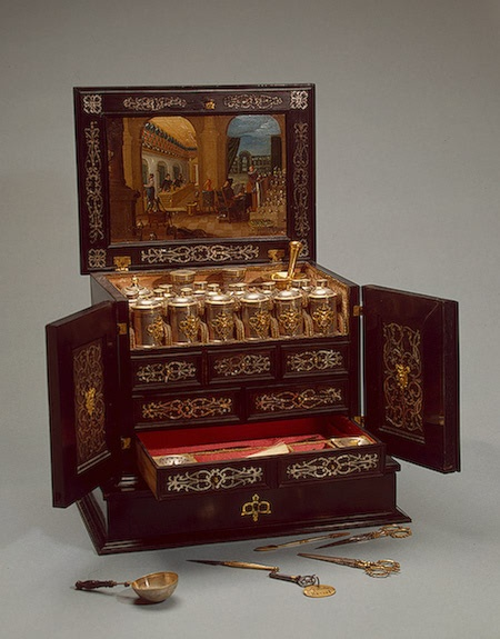 Peter I's Travelling Medicine Chest , Circa 1613-1615 , Germany