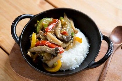 버섯덮밥 레시피 : 네이버 블로그