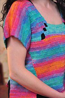 Butterfly top, 100% cotton, handmade. Beautiful!