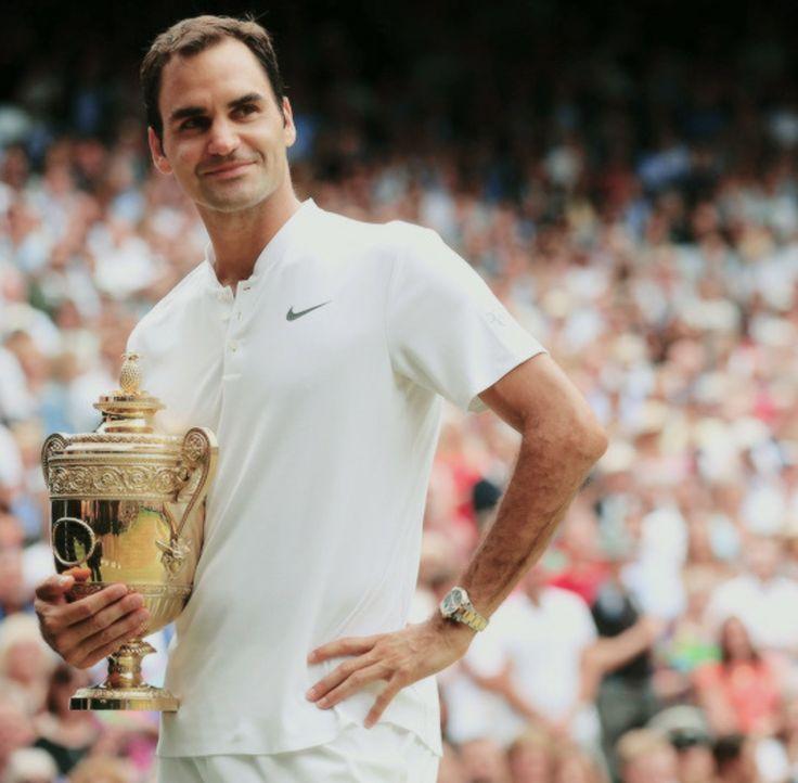 Wimbledon 2017 record setting #8...19 Majors overall (so far).