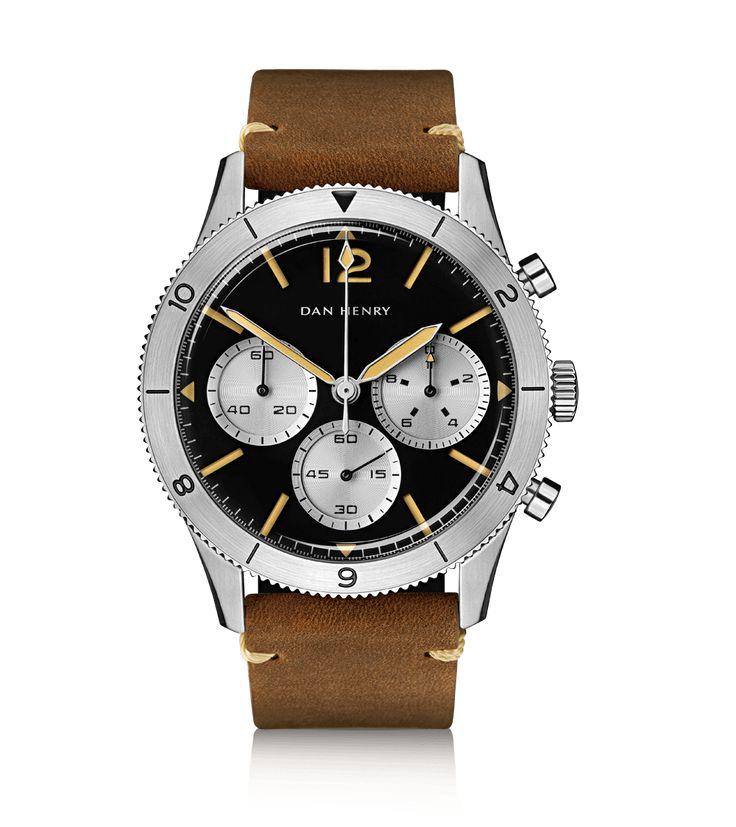 1963 Pilot Chronograph - DAN HENRY Vintage Watches