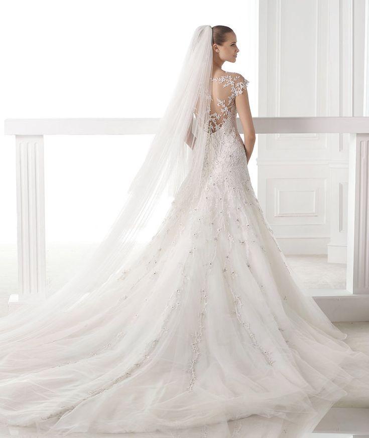 Best PRONOVIAS BARCELONA Atelier CENTAURUS Wedding Dress http
