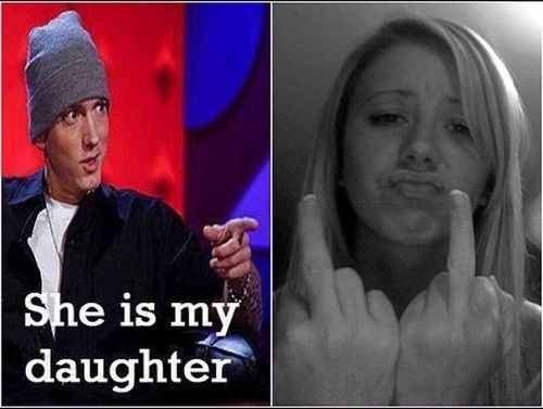 hailie jade scott and eminem relationship history
