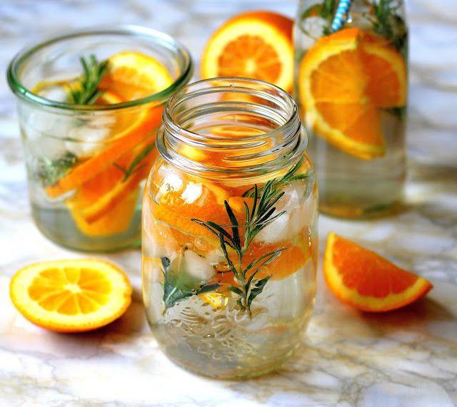 Pomerančová voda s rozmarýnem   Cooking with Šůša