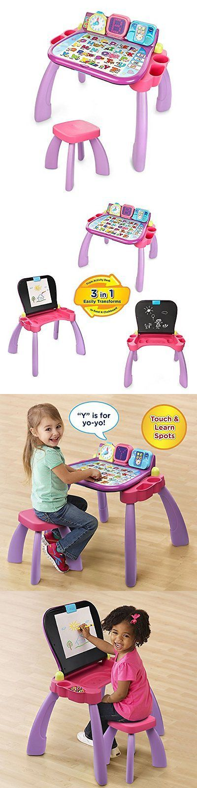 Learning Systems 158695: Vtech Touch And Electronic Learning Toys Learn Activity Desk - Purple - Online -> BUY IT NOW ONLY: $58.17 on eBay!