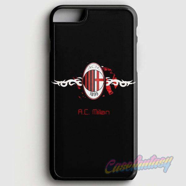 Ac Milan Fc Black iPhone 6/6S Case   casefantasy