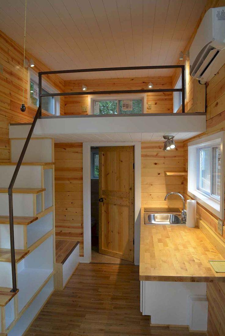 54 amazing loft stair for tiny house ideas Homekover Tiny