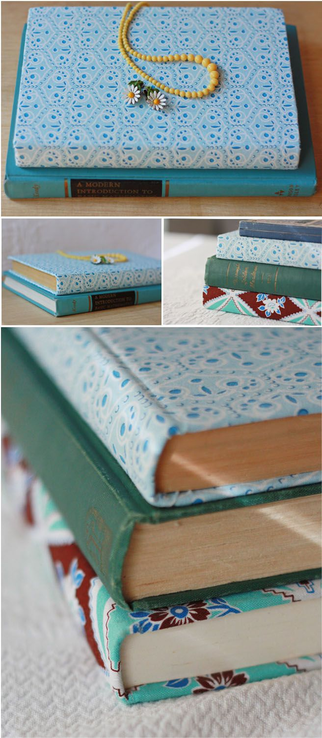 Fabric covered book tutorial. Would be perfect for those cardboard books at Joann's for a special gift!!
