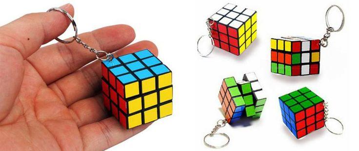 Llaveros Rubik, ideal para la cartera de la dama y el bolsillo del caballero.