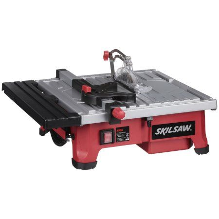 Skilsaw 3550 02 5 0a 7 Inch Wet Tile Saw 5 Pc Box Walmart Com Tile Saw Skil Saw Skil