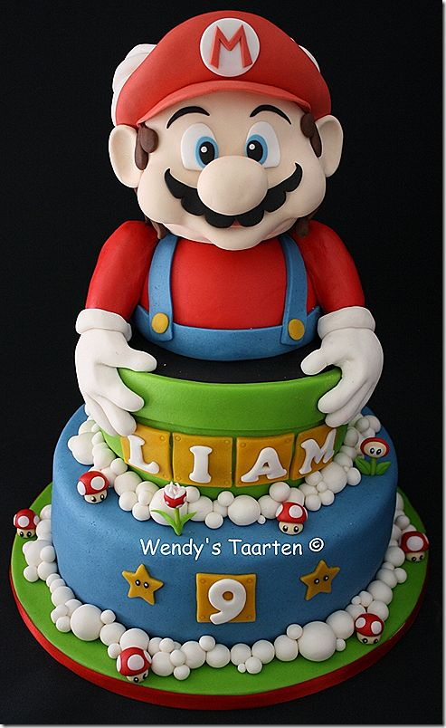 122 besten super mario bros cakes cupcakes and cookies. Black Bedroom Furniture Sets. Home Design Ideas