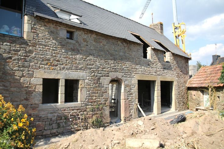Ma maison bretonne son int rieur ses gros travaux ses for Renovation maison de campagne