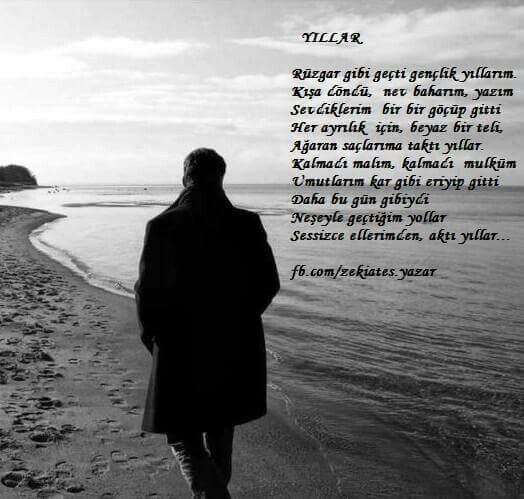 #şiir #yıllar #zekiates