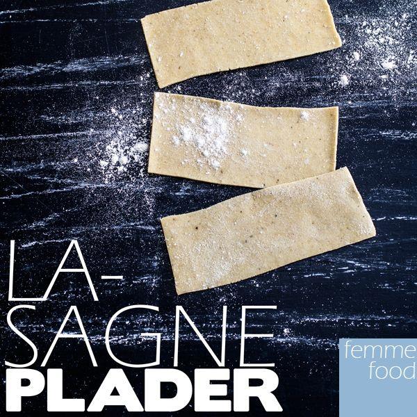 Hjemmelavede, glutenfrie lasagneplader