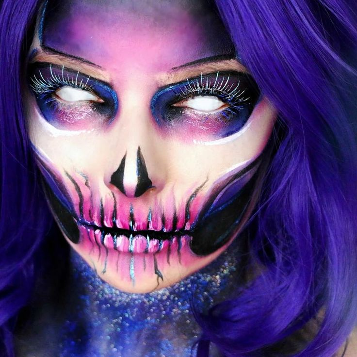 161 best Face paint images on Pinterest   Make up, Halloween ...