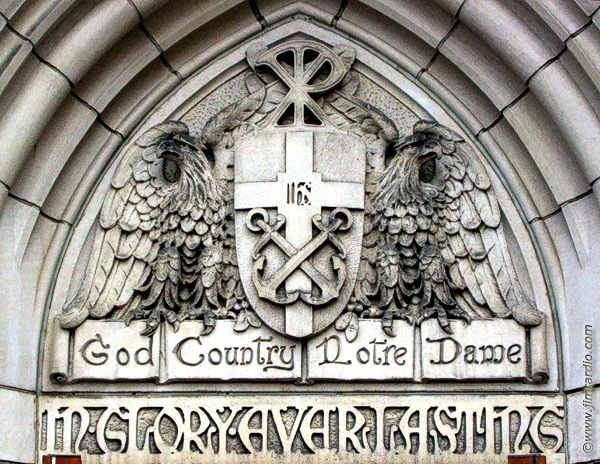 Image result for Sacred Heart Cathedral, Notre Dame, God Country Notre dame, photos