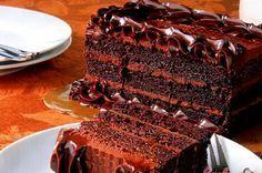 Шоколадно-ореховый торт «Паве»