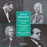 Max Reger: Variations and Fugue on a theme of J S Bach; Variations and Fugue on a theme of G P Telemann [CD], 06133368