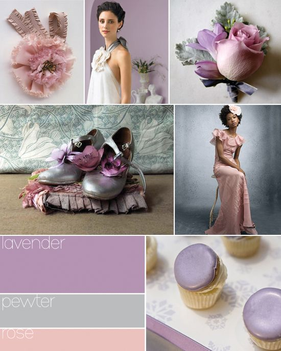 beautiful :D can't get enough of this peach and lavender combo!