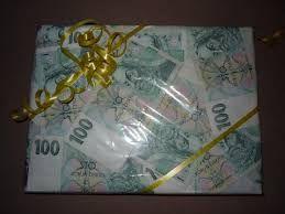 Výsledek obrázku pro dárky z peněz