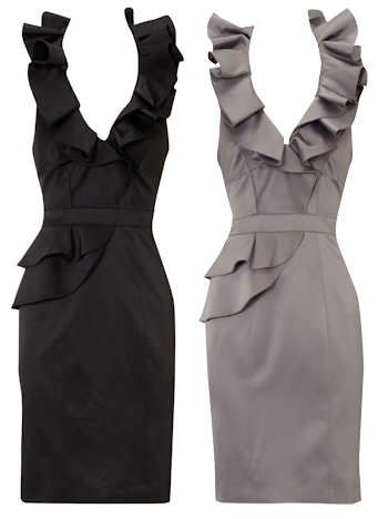 Bcbg ruffle halter dress in Womens Dresses - Compare Prices, Read