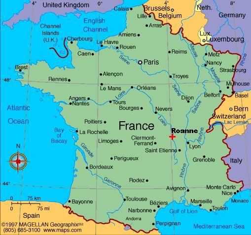 Nantes City Map