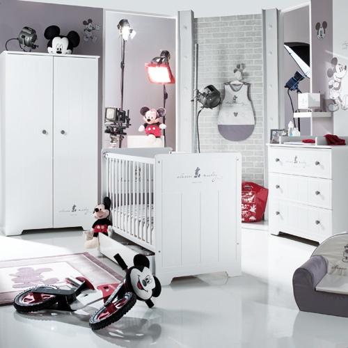 Chambre Classic Mickey De La Selection Sauthon Chambre Bebe