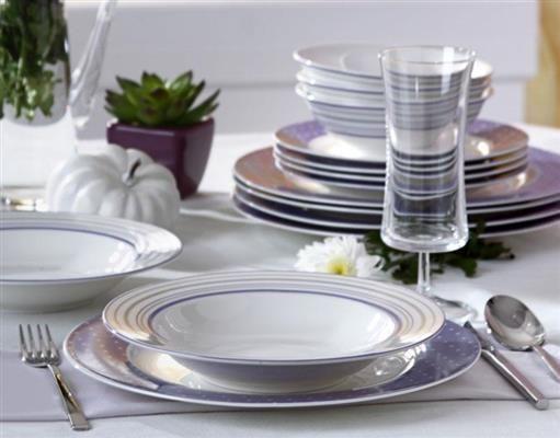 Pierre Cardin 24 Parça Günlük Yemek Takımı Lilac | cazip geldi