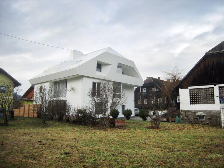 Weisses Haus Michael Strauss Architekt