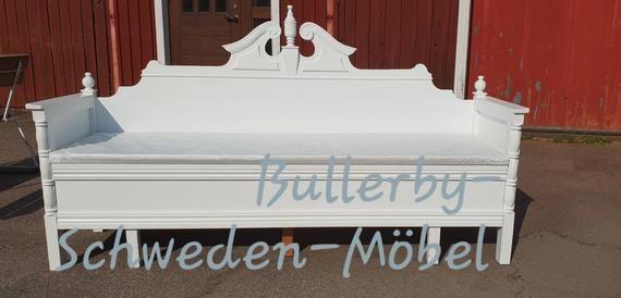 Kuchenbank Aus Schweden Antik Schwedenbank Truhe Bank Vintage Shabby Brocante Keukenbenk Bench Bettbank Swedish Schwedisch Weiss Sell Handmade Brocante Shabby