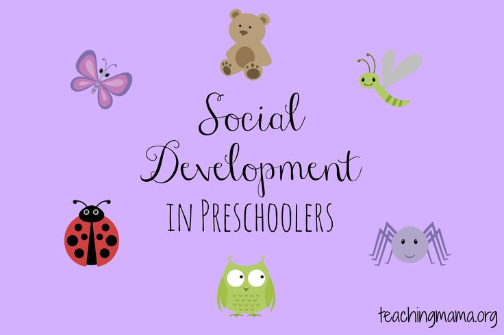 Teaching Mama: Social Development in Preschoolers. Pinned by SOS Inc. Resources. Follow all our boards at pinterest.com/sostherapy for therapy resources.