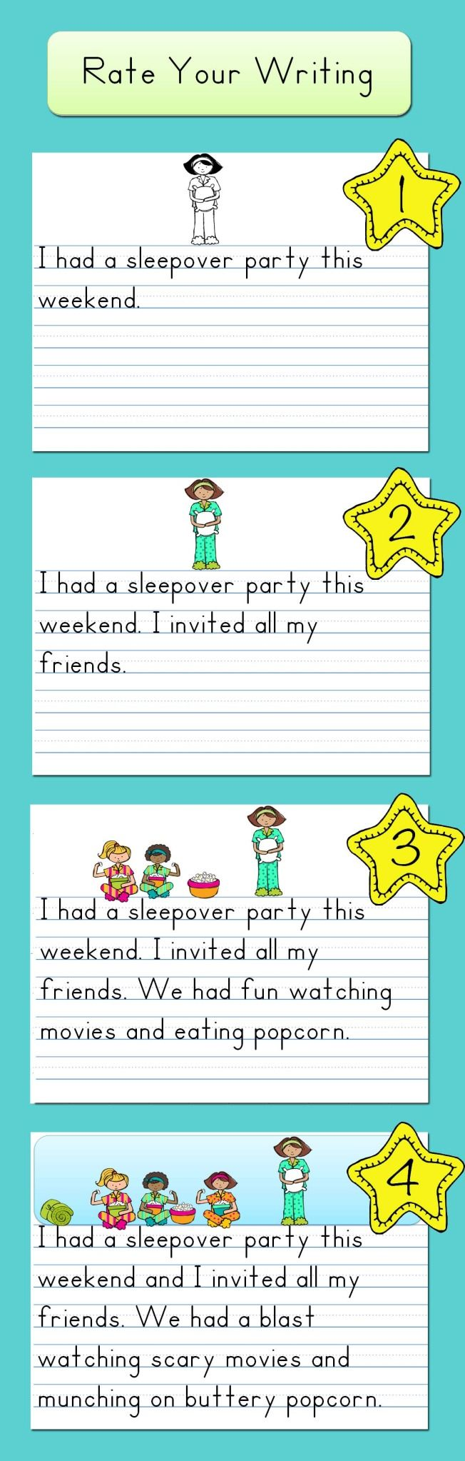 Rate Your Writing Free Download: used by a first grader teacher I know and she LOVED it.