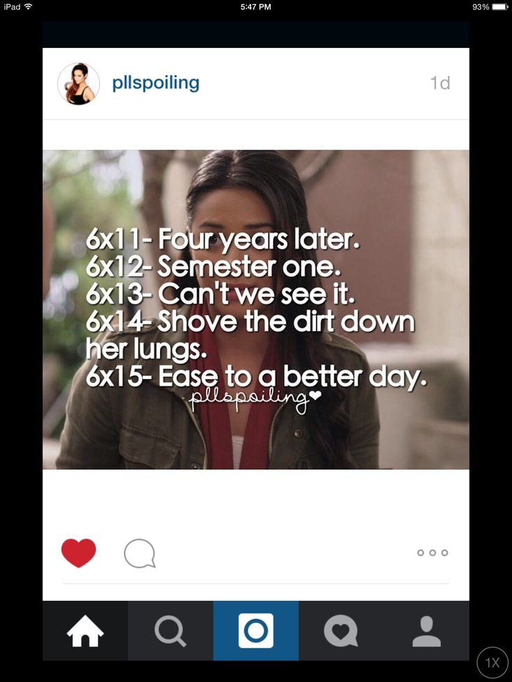 @25jmc Pretty Little Liars spoilers