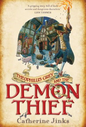Theophilus Grey and the Demon Thief - Twelve-year-old Theophilus Grey - Philo to his friends - heads a team of linkboys who guide Londoners home through the dank eighteenth-century alleys by the light of their torches.
