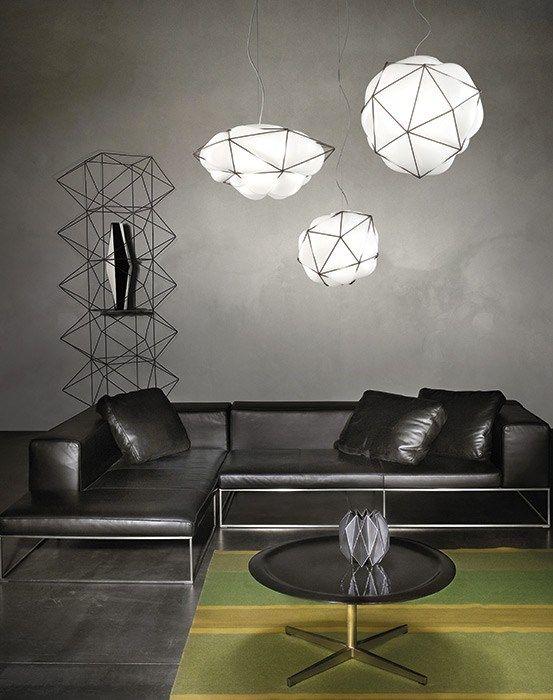 Direct light blown glass pendant lamp SEMAI SP - @vetreriavistosi