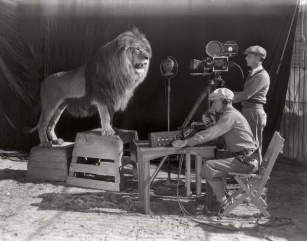 1928, recording the MGM signal