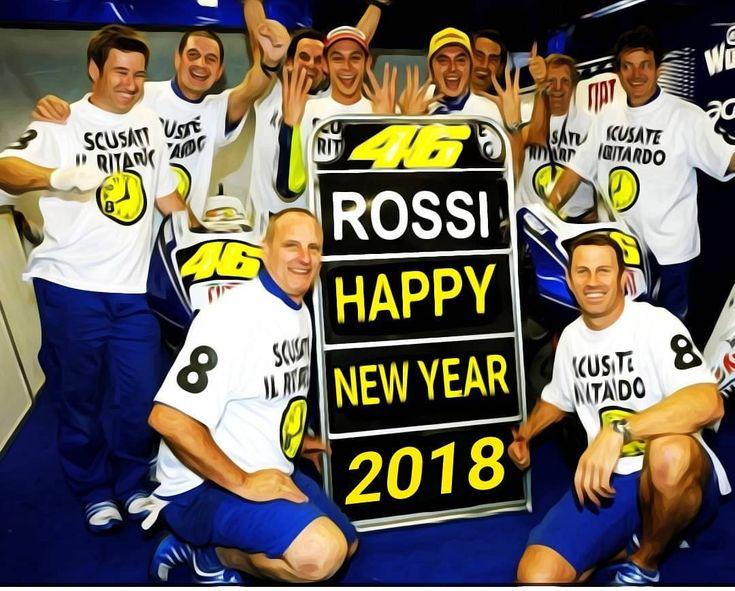 1,270 vind-ik-leuks, 7 reacties - Valentino Rossi ⏺️ (@valeyellow46br) op Instagram: '#HappyNewYear #FelizAnoNovo   #ValentinoRossi and #crew #TeamYamaha'
